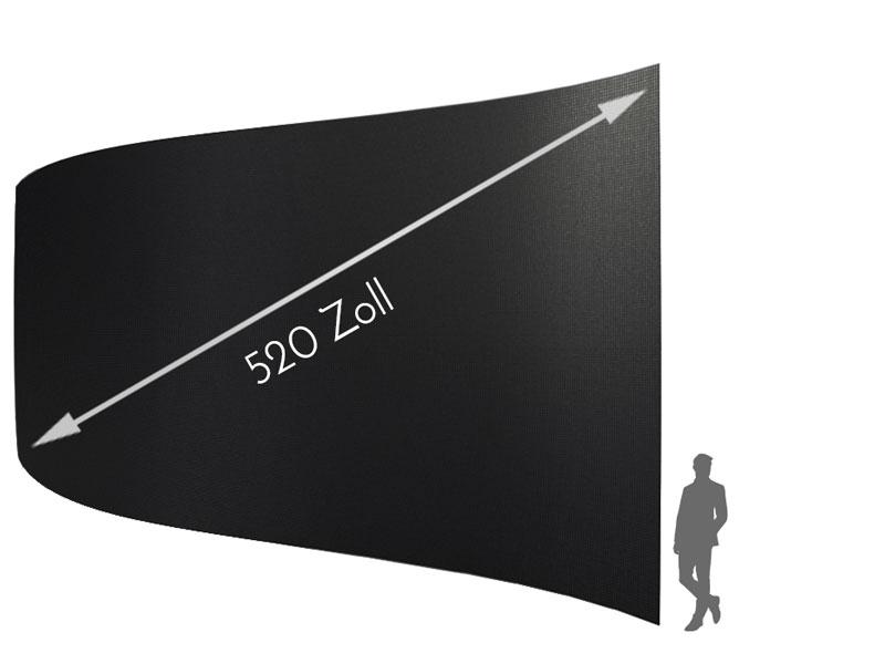 520 Inch Full HD LED-wall - 6 0mm pixel pitch Samsung