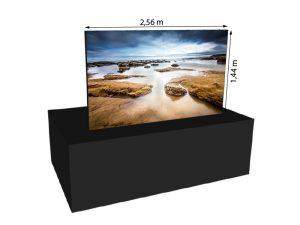 LED Wand 2.56m x 1.44m - V:LED VSF6 mieten