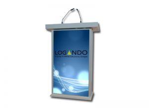 Design Multimedia Rednerpult weiß (Gebrauchtware) kaufen