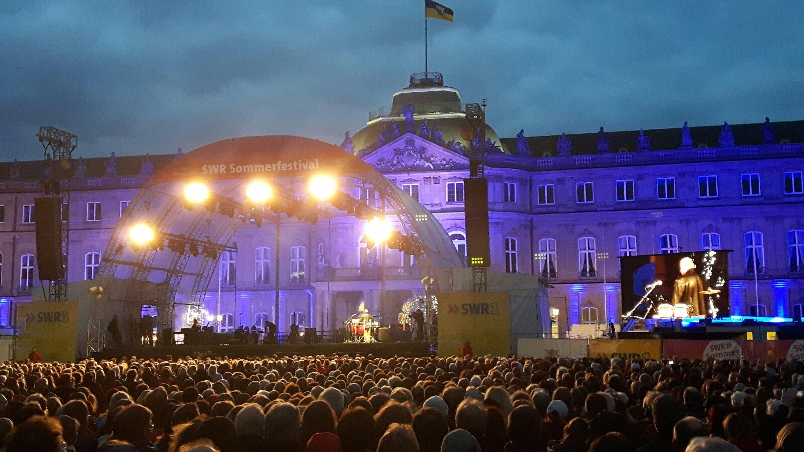 LED Trailer 15m² SWR Sommerfest Stuttgart