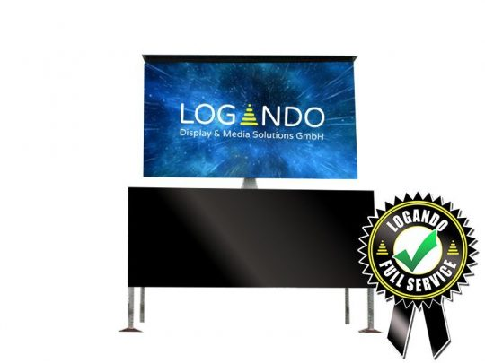 LED Container - 7,36m x 4,16m LED Screen mieten