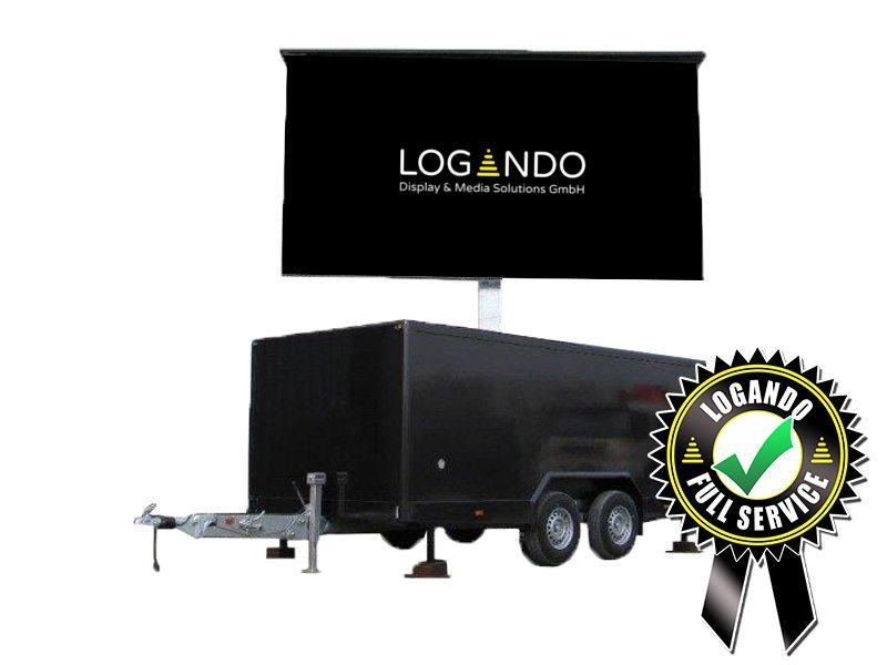 LED Trailer – 5,12m x 2,88m LED Screen mieten - LED Trailer mieten