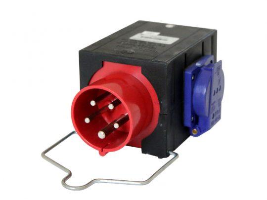 Strom-Unterverteilung mit Anschluss 16A CEE-Rot; 3x Schuko mieten