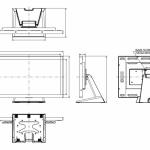 22 Zoll LED TFT - iiyama ProLite T2234MC-B1 technische Zeichnung