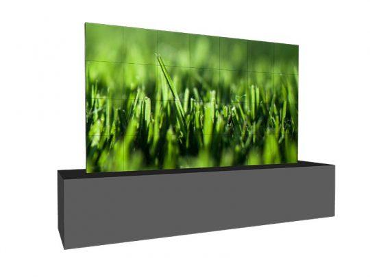 LED Wand 4,32m x 2,40m - LEDCON SL-3.75SI