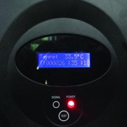 LEDCON SL-3.75SI Temperaturanzeige