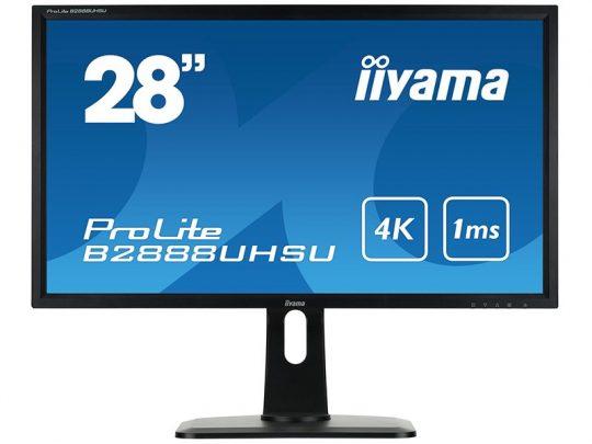 28 Zoll LED 4K Display - iiyama ProLite B2888UHSU-B1 mieten