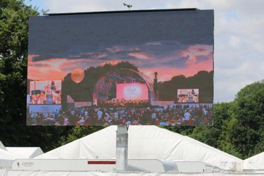 LED Trailer 15m²