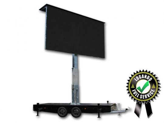 Logando LED Trailer 15m² Full Service mieten