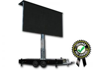 LED Trailer Cabrio 23m² - 6,40m x 3,60m V:LED VSF6 LED Screen mieten
