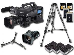 Kameraset - Panasonic AG-HPX610 mieten
