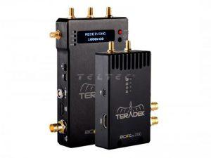 3GSDI/ HDMI Videofunkstrecke - Teradek BOLT-990 PRO 2000 Set (TX+1RX) mieten