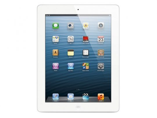 Apple iPad 4 LTE - MD525FD/A weiss mieten