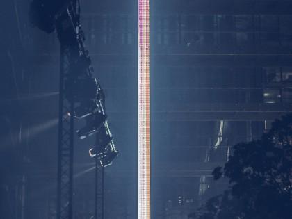 Die vielleicht längste Display-Praline der Welt …