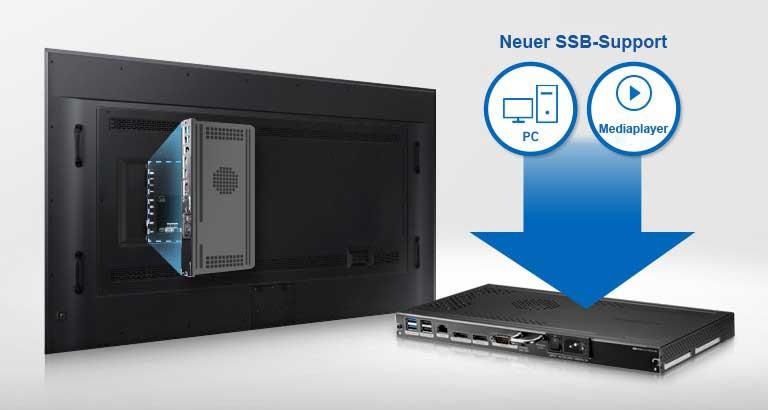 Samsung QM85D-BR SSB