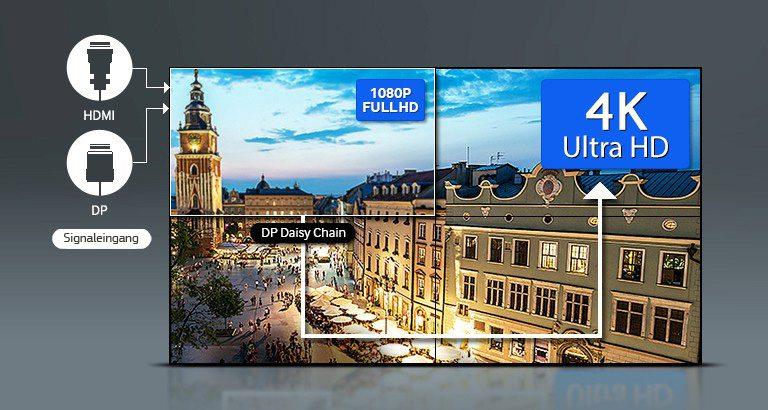 Samsung UD55E-P mieten