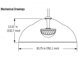 SoundTube FP6030 II Technische Zeichnung