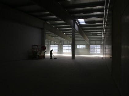 Logandos neue Halle steht!