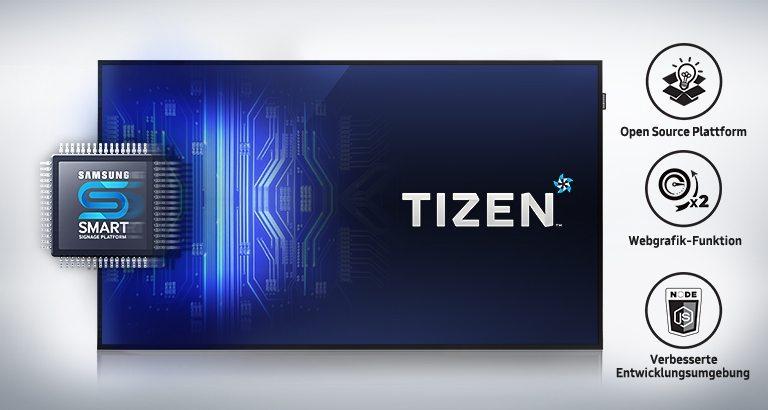 Samsung PH49F Tizen