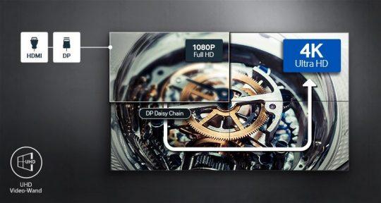 Samsung UH55F-E 4k
