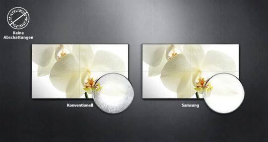 Samsung UH55F-E Vergleich