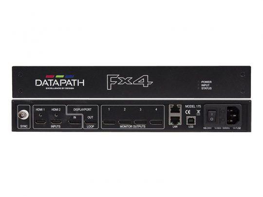 Display Controller - Datapath FX4D mieten