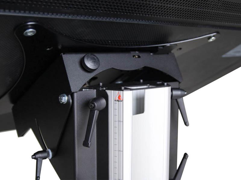 Audipack-Touch-display-schraegsteller detail 2 mieten