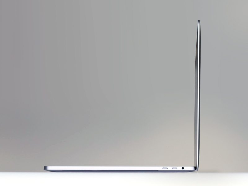 Apple MacBook Pro mieten apple MacBook Pro 15-4 zoll side