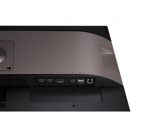 samsung u28e850r anschluesse Business UHD Monitor mieten