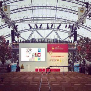 Veranstaltungstechnik mieten Event Messe Leipzig Buchmesse