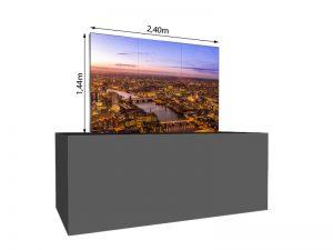 LED Wand 1.44m x 0.96m - 2.5mm LEDitgo sB2HB mieten