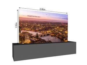 LED Wand 3.36m x 1.92m - 2.5mm LEDitgo sB2HB mieten