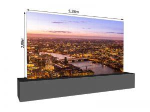 LED Wand 5.28m x 2.88m - 2.5mm LEDitgo sB2HB mieten
