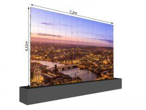 LED Wand 7.20m x 4.32m - 2.5mm LEDitgo sB2HB mieten