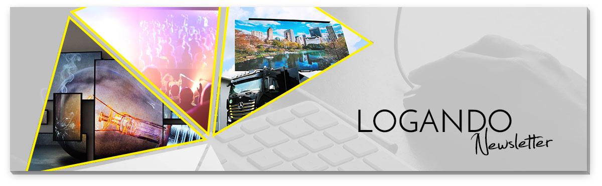 Logando Newsletter Anmeldung