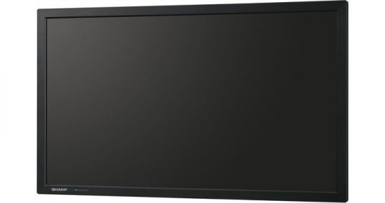 32 Zoll LCD - Sharp PN-Y325 (Neuware) kaufen - front black perspective