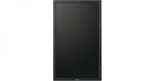 32 Zoll LCD - Sharp PN-Y325 (Neuware) kaufen - front black portrait