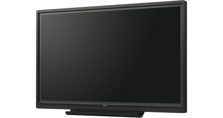 70 Zoll LCD Touch-Display - Sharp PN-70TA3 (Neuware) kaufen black perspective