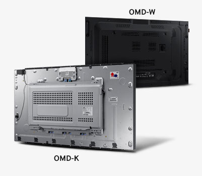 Samsung-OM46D-K--W-Difference