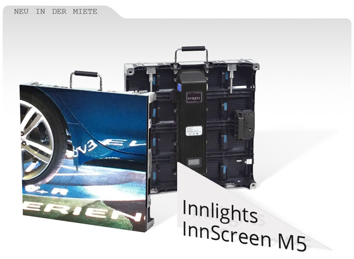 Innlights InnScreen M5 LED-Module Outdoor mieten