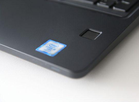 DELL Latitude 5580 Detail Fingerabdruckscanner