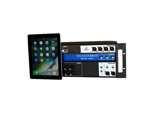 Set Soundcraft Ui16 und Ipad-Produktbild