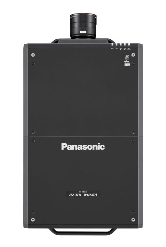 Panasonic-PT-RZ31K-mieten-30.000-Lumen--top