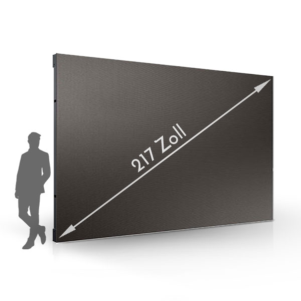217 Inches Full HD LED wall - 2.5 mm pixel pitch Samsung