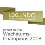 Logando ist Wachstums-Champion 2018
