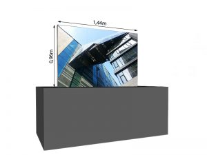 LED Wand 1.44m x 0.96m - 3.75mm LEDCON SL-3.75SI mieten