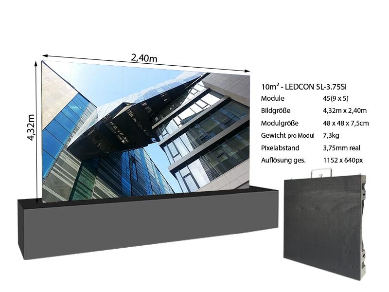 LED-Wand-4,32m-x-2,40m---3,75mm-LEDCON-SL-3,75SI-+-Infos