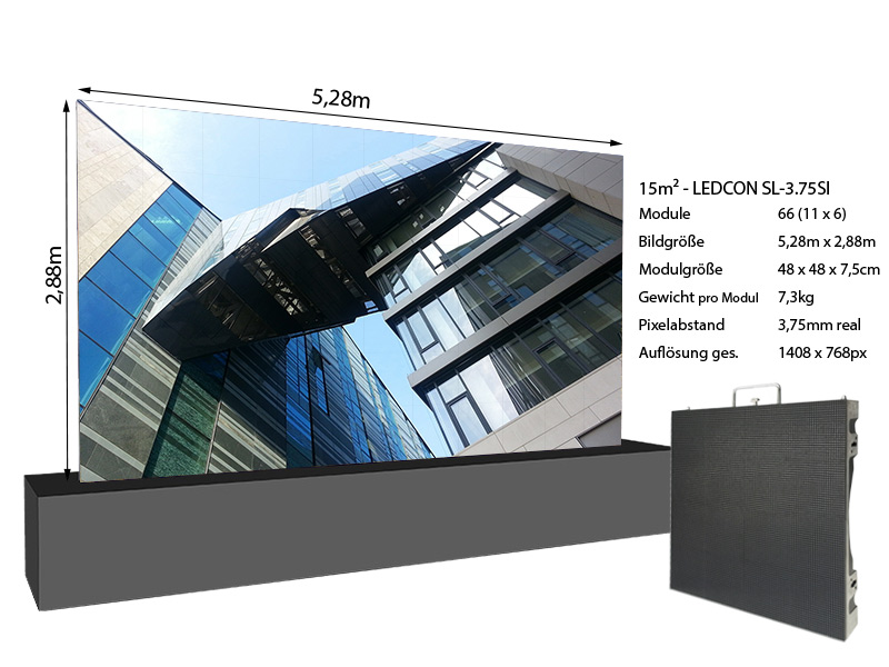 LED-Wand-5,28m-x-2,88---3,75mm-LEDCON-SL-3,75SI-+-Infos