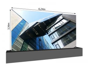 LED Wand 6,24m x 3,36m - 3.75mm LEDCON SL-3.75SI mieten