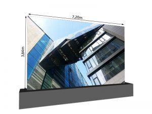 LED Wand 7.20m x 3.84m - 3.75mm LEDCON SL-3.75SI mieten